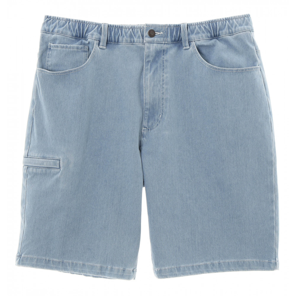 19 RELAXED DENIM SHORT