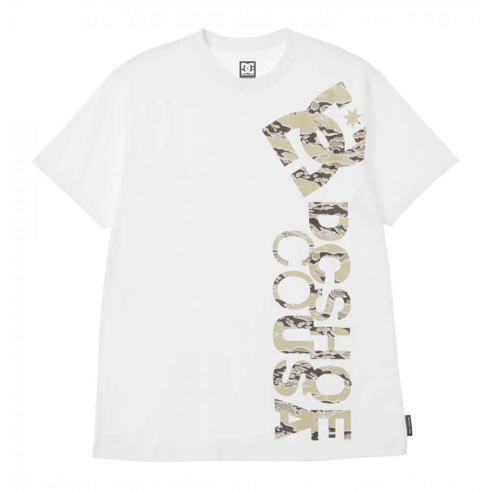 【OUTLET】メンズ Tシャツ 半袖 レギュラーシルエット 20 PRINT VERTICAL SS