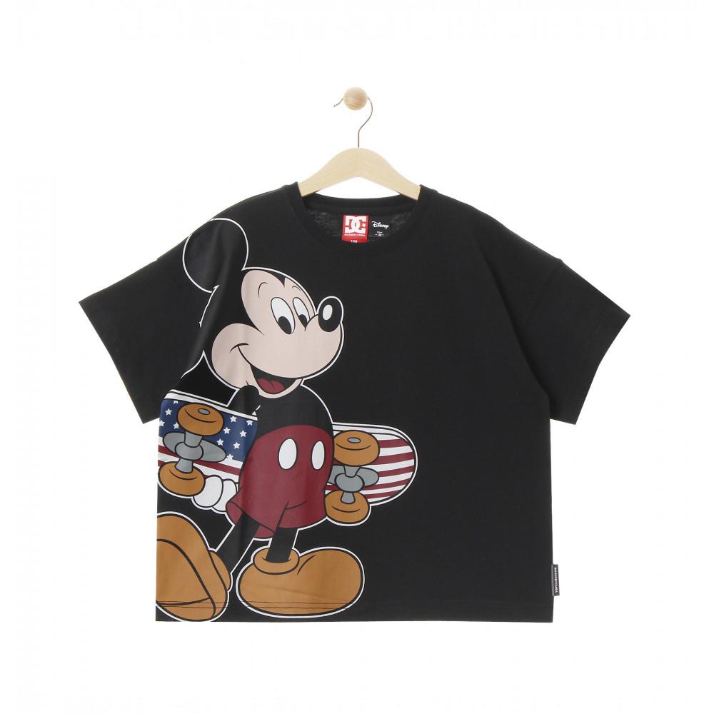 ディズニー ミッキー キッズ 100-160cm Tシャツ 半袖 ワイドシルエット 20 KD DISNEY BIG MICKEY SS