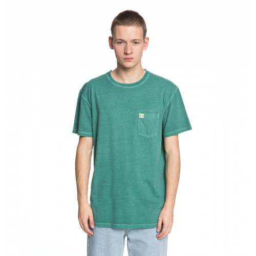 ロゴTシャツ DYED POCKET CREW