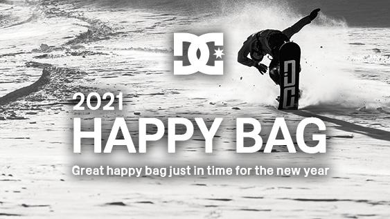 【終了しました】【福袋 2021】DC HAPPY BAGを予約販売開始